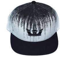 Supra Icon Snapback  White Black Strapback Hats f0c9f478df0c