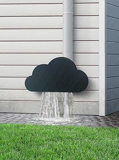 This Cloud Rainwater Pipe Attachment made me smile. Congrats to the Russian designer Dmitriy Kulyev.