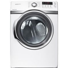 7.4 Cu. Ft. Front-Load Gas Steam Dryer by Samsung Appliances #dryer #Samsung #appliance