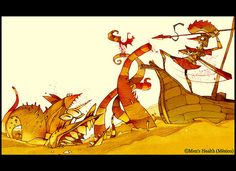 grease monsters by Patricio Betteo, via Flickr