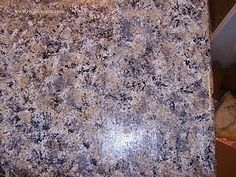 Painting laminate countertops-My kitchen granite looks like this, but I'm not ready to gut the bathrooms just yet.  This is a nice update in the meantime....
