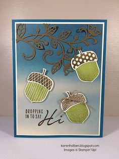 Karen's Stampin' Habit!: A-corny Card for PPA306   by Karen Shallam