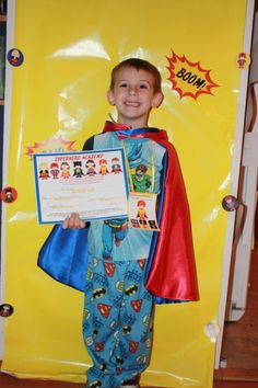 superhero academy certificate AWESOME idea for my kids next bday party