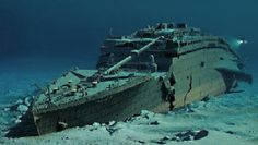Deep Ocean Expeditions - Fully Supported Submersible dives to the wreck of RMS Titanic Rms Titanic, Titanic Wreck, Titanic History, Titanic Photos, Titanic Underwater, Underwater Ruins, Underwater Pictures, Abandoned Ships, Abandoned Places