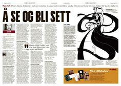Bokmagasinet i Klassekampen 13. april 2013. Magasindesign. Layout. Grafisk design. Redaksjonell design. Graphic design. Magazine design. Editorial design.