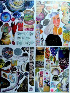 Collage Sheet pack - set H