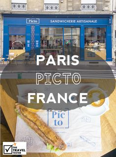 Join The Travel Tester in search for great hotspots around the world. This week, we're tasting Artisan Sandwiches at Picto in Paris, France | The Travel Tester