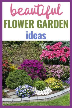 Do you dream of a beautiful garden, filled with your favorite flowers that attract butterflies, hummingbirds, and buzzing bees? Here's a list of ideas that will put a smile on your face and will give you inspiration for your own piece of heaven on earth. #flowergarden #beautifulflowers Veg Garden, Garden Tips, Garden Ideas, Budget Flowers, List Of Flowers, Landscaping Ideas, Backyard Landscaping, Amazing Gardens, Beautiful Gardens
