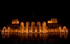 The Royal Opera House - Muscat, Sultanate of Oman Captured with a Nikon D300S