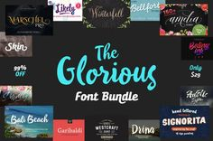 Free Fonts & Recommended Bundle | 05.16.2017