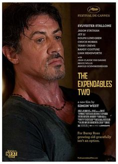 The Expandables Two - the first independent movie directed by Sly ;-)