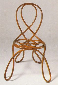 Art Nouveau inspired chair with loopy, ribbon, cursive like design. This is beauty and art added to the ordinary. Mobiliário Art Nouveau, Art Nouveau Interior, Design Art Nouveau, Art Nouveau Furniture, Muebles Estilo Art Nouveau, Muebles Art Deco, Unique Furniture, Vintage Furniture, Furniture Design