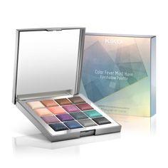 KIKO Eyeshadow Palette: Color Fever Must Have Eyeshadow Palette - 02 Elegant Tones. Limited Edition.