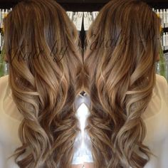 Soft Golden Highlights On Brown Hair So Pretty<3