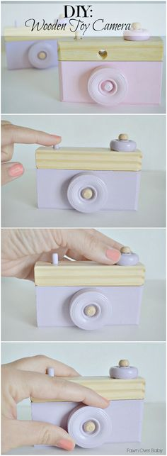 DIY Wooden Toy Camer