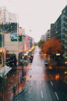 Rainy iPhone wallpaper