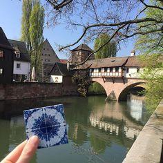 Mit dieser sonnigen Wanderfliese aus Nürnberg vom letzten Wochende hoffen wir, dass das Osterwochenende genauso schön wird. Wir wünschen euch und eurer Familie tolle Feiertage!
