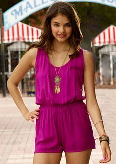 pink romper - Google Search
