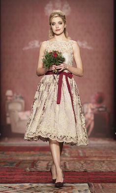 Lena Hoschek Show - Mercedes-Benz Fashion Week Berlin Autumn/Winter ...