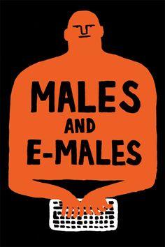#illustration :: Jean Jullien, e-males ::