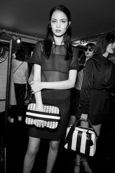Topshop Unique Spring 2015 RTW – Backstage – Vogue