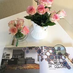 """Livro incrível que ganhei de Acácia Lischewski da editora @acaciacultural """"Design sob um olhar"""" por Evelin Sayar. Uma excelente leitura imagens de encher os olhos e pode ser usado como decoração na mesa de centro. Fica a dica. #olioliteam #dicasdaale #lifestyle #lifeisgood #decordacasa"""