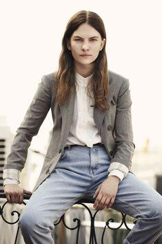 Eliot Sumner wearing a double breasted blazer by Emporio #Armani | SModa El Pais  May 2014