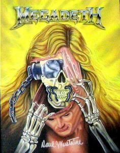Megadeth Vic Rattlehead Dave Mustang