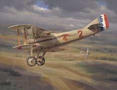 Vieux Charles by Russell Smith, open edition print on paper Fighter Aircraft, Fighter Jets, French Armed Forces, Ww1 Art, Aircraft Painting, Airplane Art, Aviation Art, Military Art, Military Aircraft
