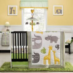 Carter's® Zoo Animals Crib Bedding Collection - buybuyBaby.com