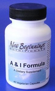 A & I Formula is a natural, non-drowsy formula designed to provide relief from allergy and cold symptoms and accompanying inflammation. The following primary components are the reason why A & I Formula can provide optimal support to inhibit the release of histamine and to provide overall support to the body's mucosal membranes that can be affected by seasonal allergies, food allergies, and other environmental assaults on the immune system.