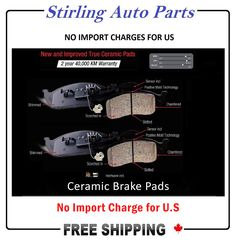 Ceramic Brake Pads or Semi-Metallic Brake Pads, which one is the prime choice for your vehicle? When it comes time for new brakes, a common question many drivers have is, what's the difference between ceramic and metallic brake pads? Read this article to get a proper answer…..   #BrakePads #PrimeChoice #StirlingAutoParts #CeramicBrakePads #MetallicBrakePads #FreeShipping