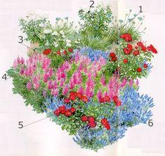 Naturnaher und romantischer Garten