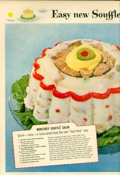 Holiday Tuna Souffle - It's what's for dinner.  In hell.