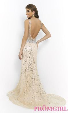 Beaded Blush Pageant, Prom Evening Gown