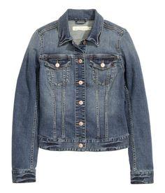 Hm jeans jacka dam