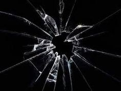 There is no method or conformity to the way glass shatters. (Disorder)