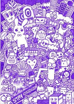 DOODLE ART BE AWESOME TODAY By Kerbyrosanes On DeviantArt