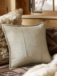 0d4cac6b Ralph Lauren - Leather Pillow Printed Cushions, Throw Cushions, Decorative  Throw Pillows, Leather