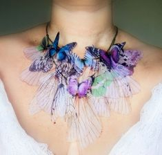 Delicate and fashionable accessories inspired by butterfly | Vuing.com
