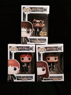 Harry Potter with the sword of Gryffindor, Ron Weasly & Hermione Granger
