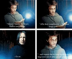 That time he simply read what he was told to read. I freaking looove it