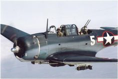 Douglas SBD-5 Dauntless (Bu 54532) (NL82GA) (Modex #5) Built 1939 - Owned by Commemorative AF (Dixie Wing) Peachtree City, Georgia