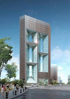 Ssiger International Plaza Phase II, Sixi City / Skidmore, Owings and Merrill