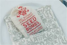 seed bombs - party favors?