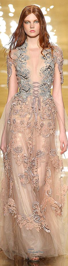 Reem Acra - Fall 2015 Ready-to-Wear - Look 41 of 45 Look Fashion, High Fashion, Fashion Show, Fashion Design, Fashion 2014, Couture Fashion, Runway Fashion, Couture Dresses, Beautiful Gowns