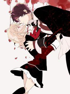 Komori Yui & Mukami Ruki | Diabolik Lovers More Blood #otomegame