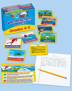 Writing Activity Pockets - Gr. 4-5
