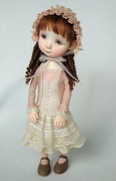 Cattie - original doll by Ana Salvador