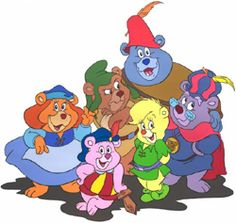 the good old cartoons - Gummy Bears bouncing here and there and everywhere. High adventure that's beyond compare. We are the Gummy Bears.